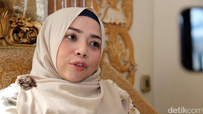 Muzdhalifah saat ditemui di kediamannya di kawasan Tangerang.