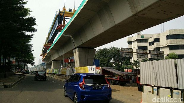 Proyek LRT Jakarta Terkini