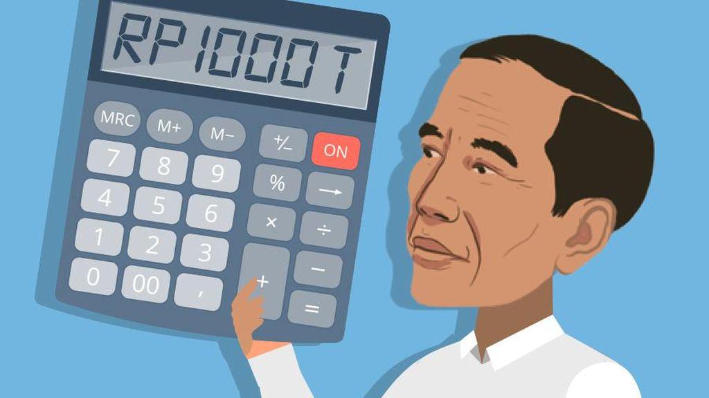 Selain Berutang, Jokowi Juga Cicil Utang hingga Rp 1.600 T