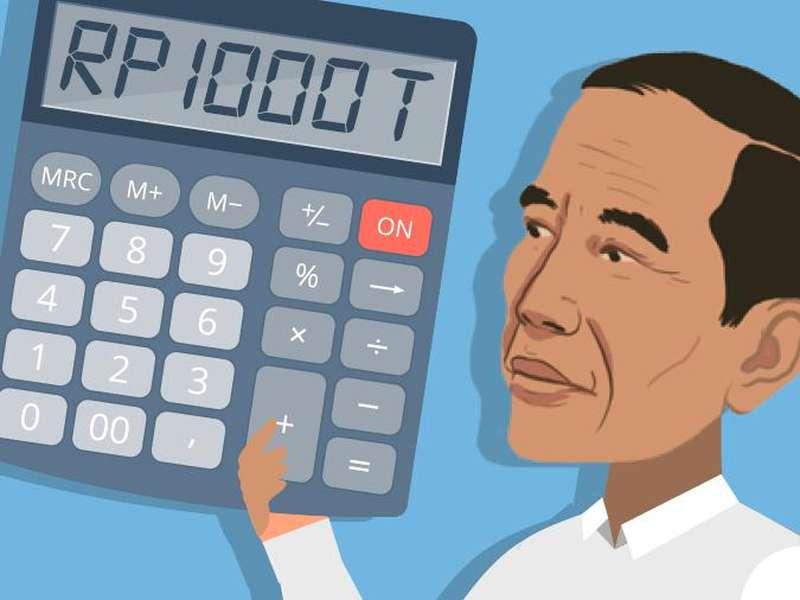 Selain Berutang, Jokowi Juga Bayar Cicilan Utang hingga Rp 1.600 T