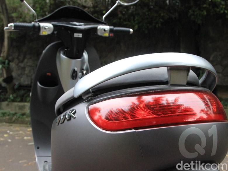 Viar berencana memberikan suara pada motor listriknya. Foto: M. Luthfi Andika