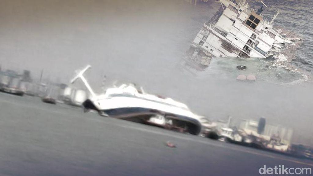13 Penumpang Kapal Terbalik di Indramayu Berhasil Diselamatkan