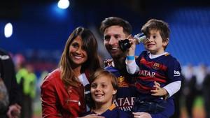 Lionel Messi-Antonella Roccuzzo Tunggu Anak Ketiga