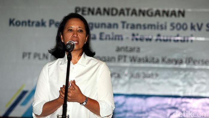 Menteri BUMN Rini Soemarno/Foto: Rengga Sancaya