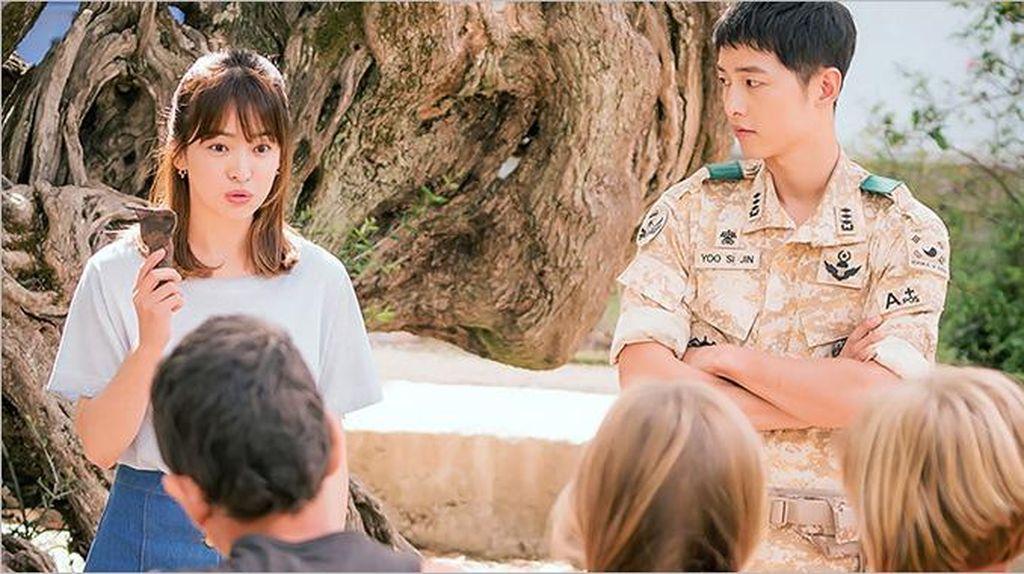Berwajah Baby Face, Ini Rahasia Awet Muda Song Joong Ki dan Song Hye Kyo (2)