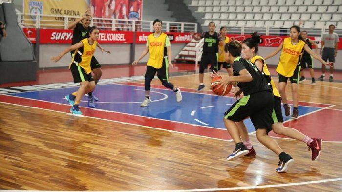 Timnas basket putri menggelar seleknas ke SEA Games 2019 mulai Juli. (Foto: ist)