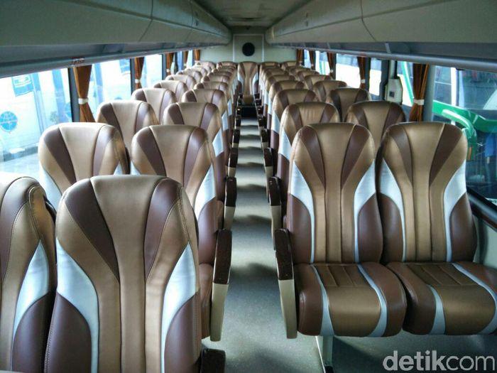 Foto Deretan Bus Tingkat Mewah yang Wara wiri di