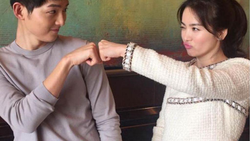 Berwajah Baby Face, Ini Rahasia Awet Muda Song Joong Ki dan Song Hye Kyo (1)