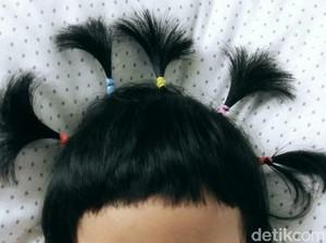 Hah! Rambut Bocah Ini Nggak Bisa Disisir, Kenapa Ya?