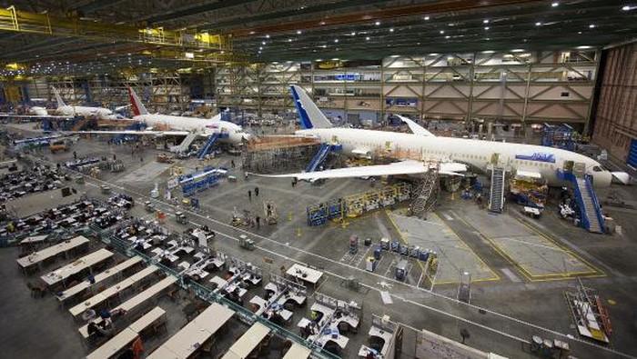 Pabriknya Boeing Gede