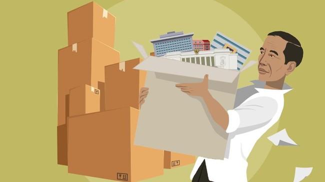 Pembangunan Ibu Kota Baru di Kaltim Dibayangi Material Impor