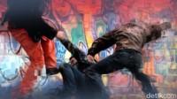 Pukuli Lalu Bawa Terduga Pencuri ke Polisi, 5 Pemuda Jadi Tersangka