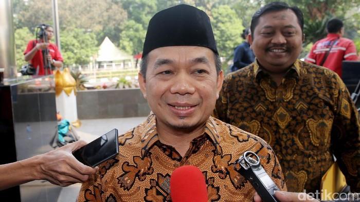 Ketua Fraksi PKS Jazuli Juwaini (Agung Pambudhy/detikcom)