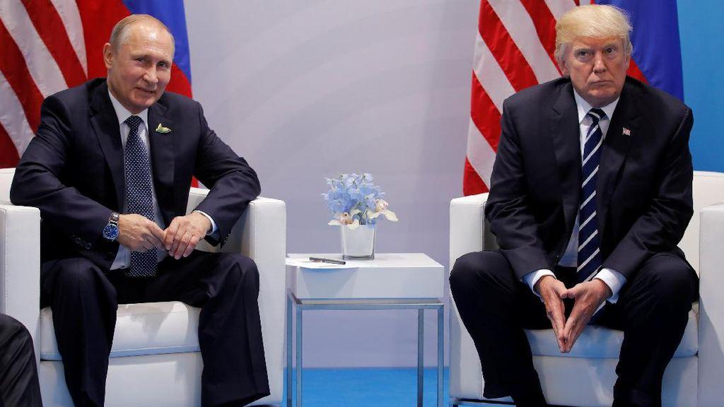 Jelang Pertemuan di Helsinki, Trump Sebut Putin Bukan Musuhnya