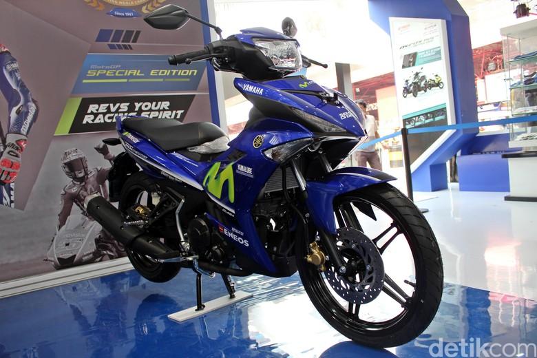 Motor bebek Yamaha MX King. Foto: Khairul Imam Ghozali