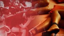 Hindari Razia, Wanita Diduga PSK di Makassar Sembunyi di Selokan