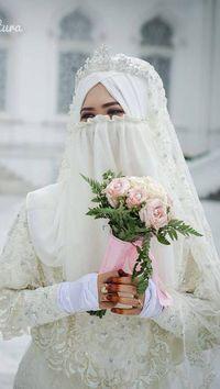Fenomena Baru Banyak Hijabers Yang Ingin Menikah Pakai Cadar Di 2017