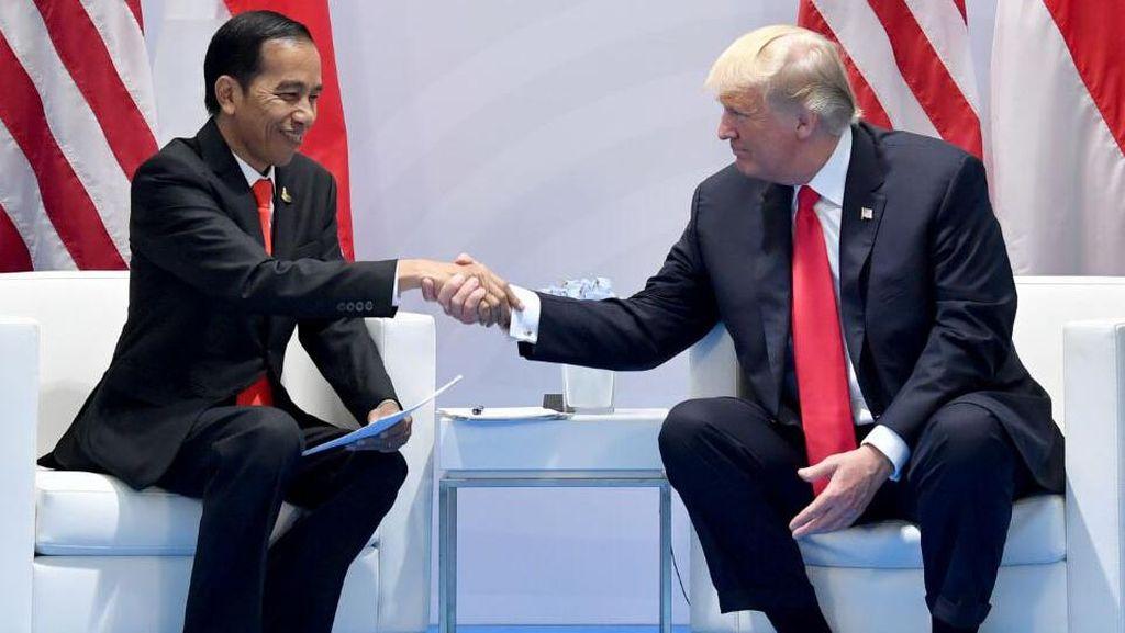 Sudah 40 Kepala Negara Ucapkan Selamat ke Jokowi, Termasuk Donald Trump