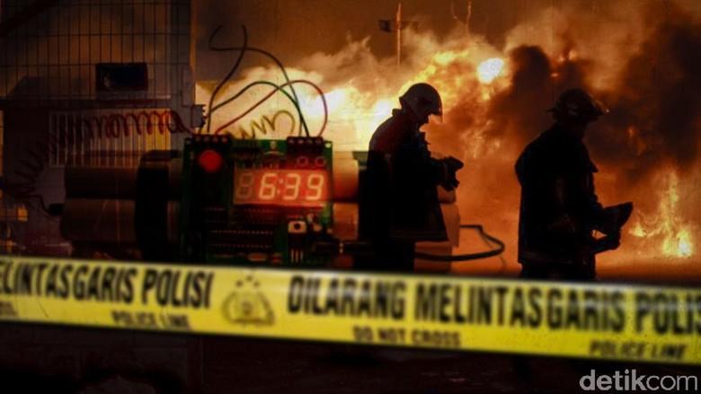Ledakan Bom di Jalur Pedestrian di Lyon Prancis, 8 Orang Terluka