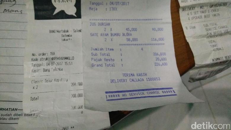 Julianto Sempat Bayar Orderan Go Food Fiktif