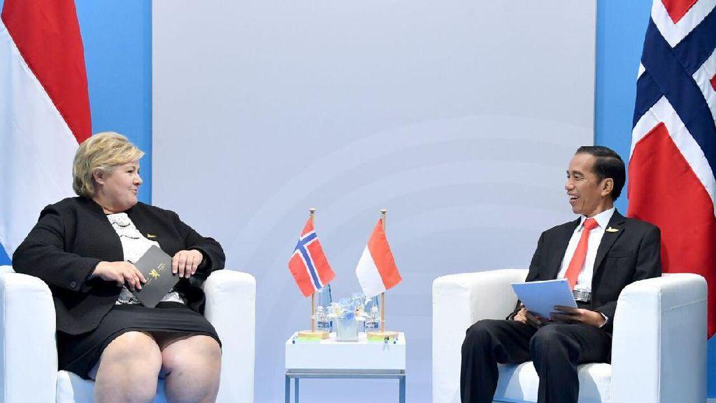 Indonesia-Norwegia Sepakat Tingkatkan Kerja Sama Perdagangan