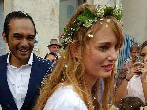 Nikahi Ario Bayu, Aktris Prancis Valentine Payen Cantik Bergaun Putih