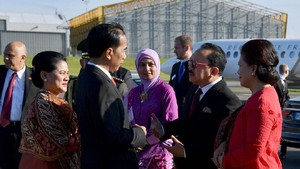 Diantar Foke, Presiden Jokowi Bertolak ke Tanah Air dari Jerman