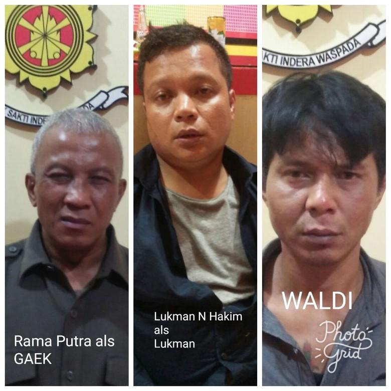 Melawan, Komplotan Preman Modus Ganjal ATM Ditembak Polisi