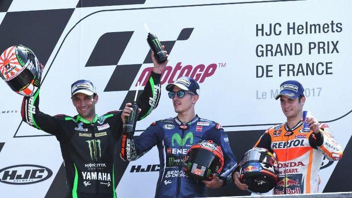 Maverick Vinales menjadi pemenang MotoGP Prancis tahun lalu (Foto: AFP PHOTO / JEAN-FRANCOIS MONIER)