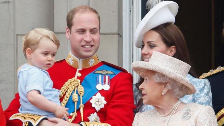 Panggilan Sayang Pangeran George untuk Ratu Elizabeth/ Foto: dok. Getty Images
