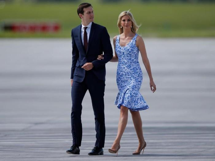 Ivanka Trump dan Jared Kushner. Foto: Reuters
