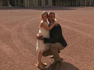 Gelar Pesta Ultah Sang Putri di Istana Buckingham, David Beckham Dikritik