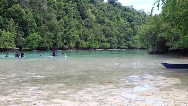 Kehe Daing di Pulau Kakaban