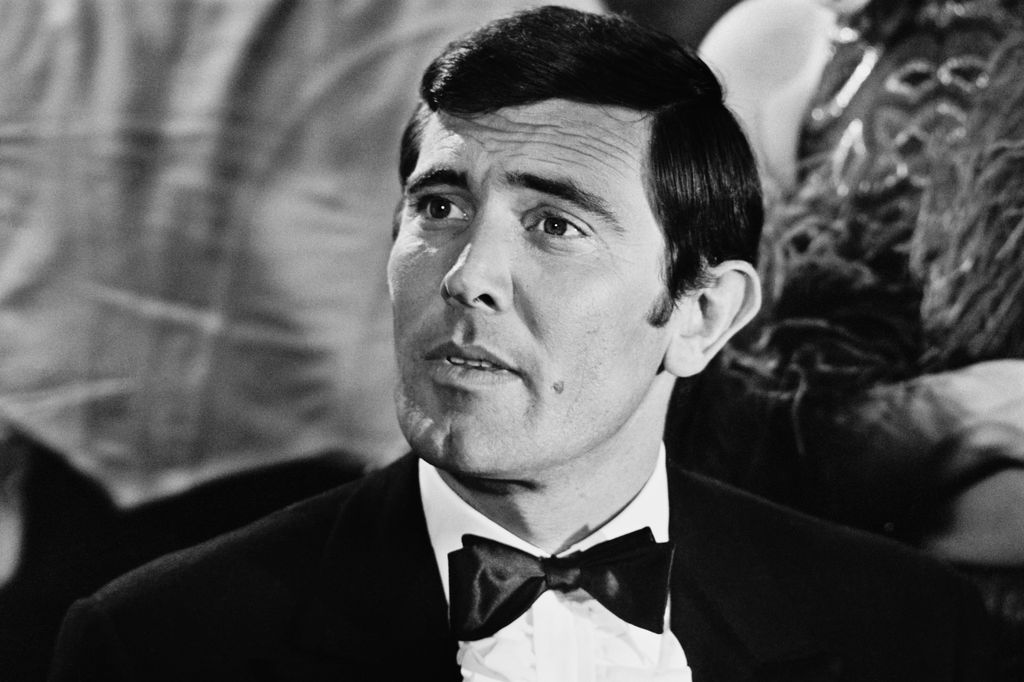 Australian actor George Lazenby playing 'James Bond' during a scene from 'On Her Majesty's Secret Service',   17th March 1969.  (Photo by Michael Stroud/Daily Express/Hulton Archive/Getty Images)