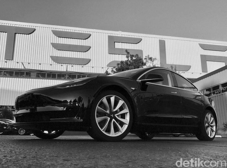 Tesla Model 3. Foto: Elon Musk