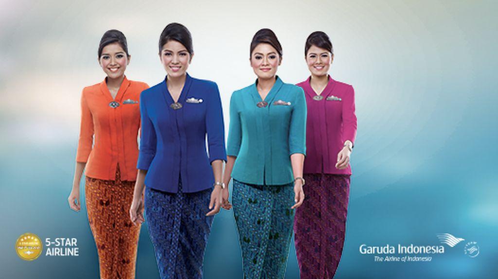 Ini Penampilan Baru Pramugari Garuda di New Normal