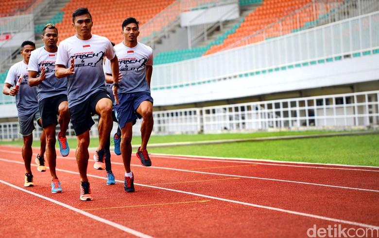 Tim Estafet Putra Panasi Mesin Jelang SEA Games