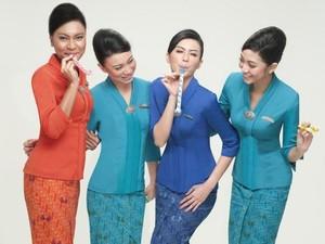 10 Seragam Pramugari Paling Stylish, Etihad Sampai Garuda Indonesia