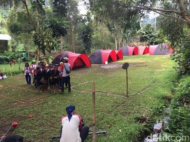 Jambore bisa jadi pengalaman baru buat anak-anak untuk mengenal alam lebih dekat. (Foto: Dian/HaiBunda)