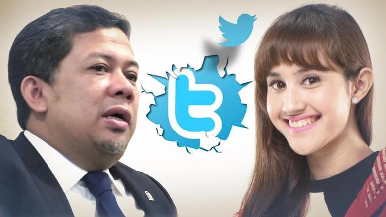Fahri Hamzah Kuliahi Tsamara tentang Politik Lewat Twitter