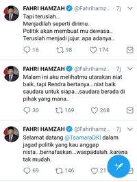 Kuliah Tweet Fahri Hamzah Untuk Tsamara