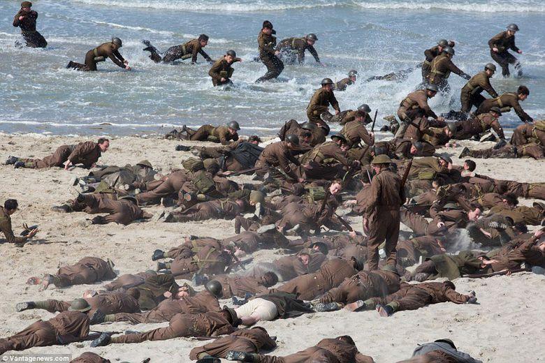 Dunkirk merupakan cerita dari kisah nyata pada Perang Dunia II. Foto: dok Dunkirk