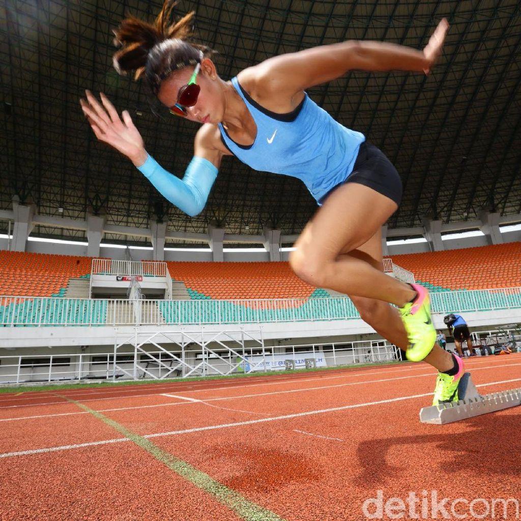 Ingin Fokus, Pelari Gawang Emilia Nova Tidak Puasa Selama Latihan