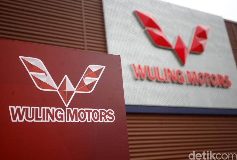 Logo Wuling Motors. Foto: Muhammad Ridho