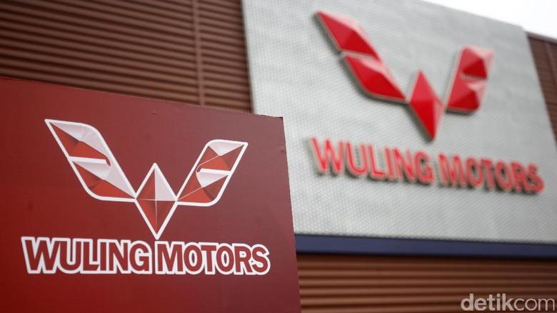 Logo Wuling (Foto: Muhammad Ridho)