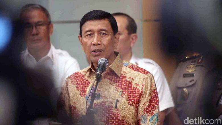 Wiranto Tagih Janji DPR Rampungkan Revisi UU Antiterorisme