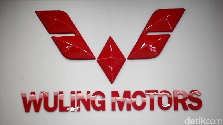 Logo Wuling di pabrik Cikarang (Foto: Muhammad Ridho)