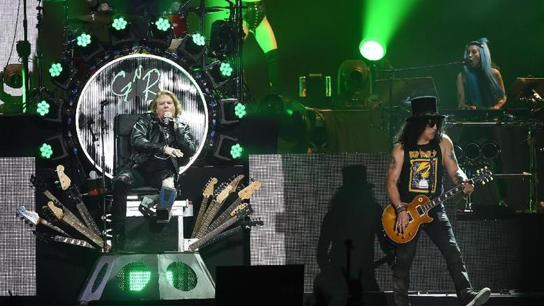 Perkiraan Setlist Konser Guns N Roses di Indonesia