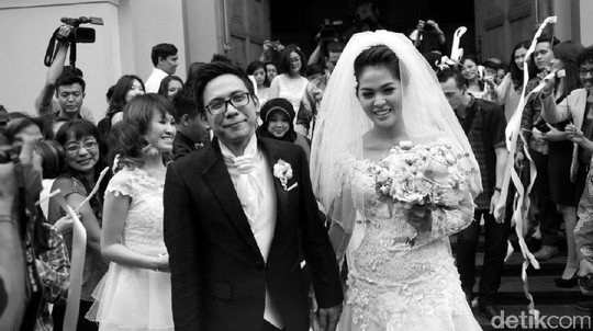 Throwback Moment! Mesranya Gracia Indri-David NOAH Sebelum Cerai