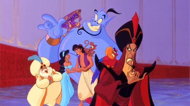 Kisah Aladdin sempat muncul versi animasi pada 1992.